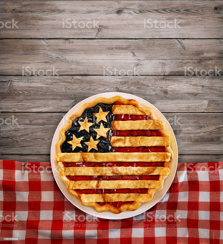 American Pie royalty-free stock photo