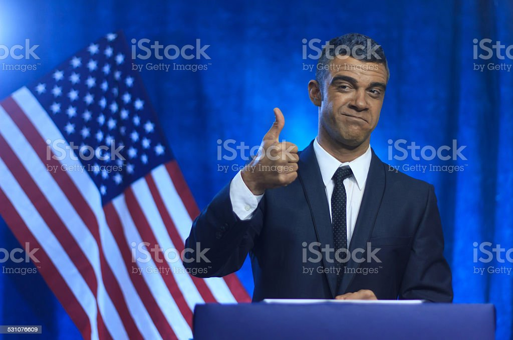 American Politician stock photo