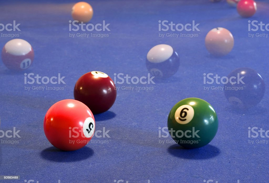 american pool royalty-free stock photo
