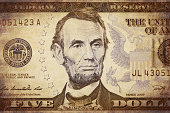 istock American president Lincoln on the five dollar banknote 506398493