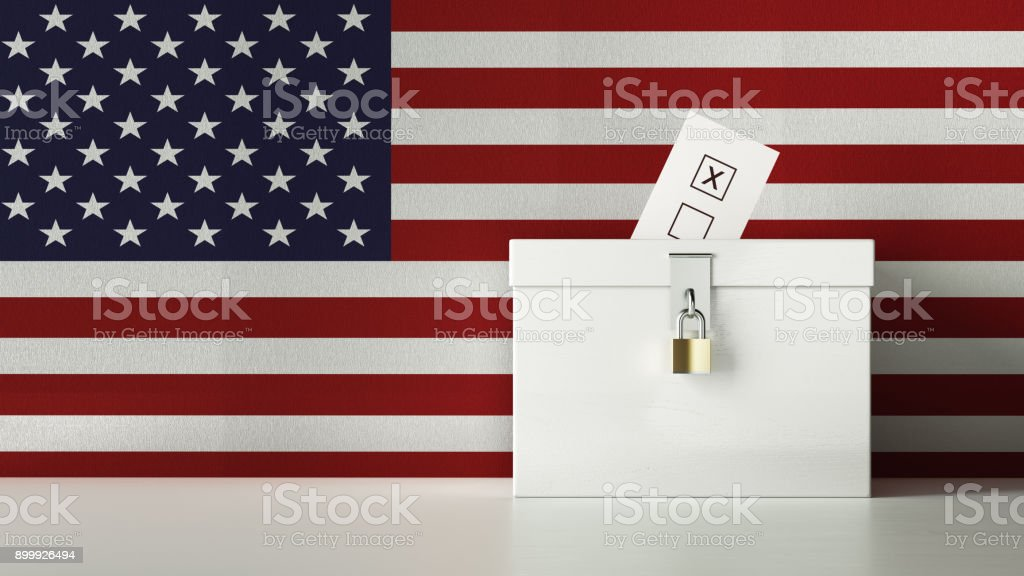 American Presidential and Legislative Elections Concept stock photo