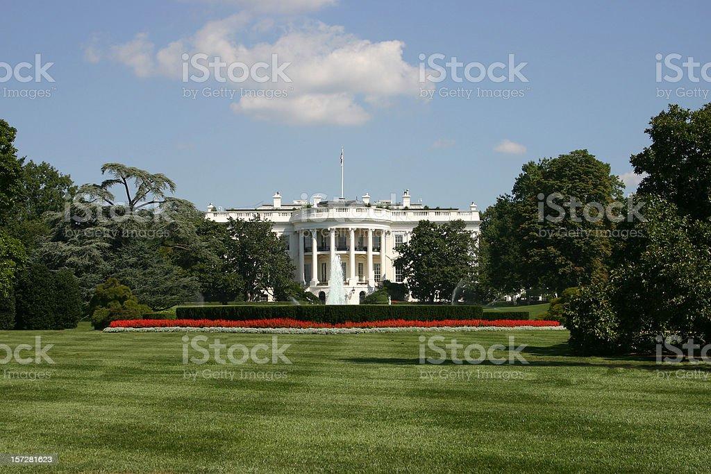 American president's home : The White House, Washington D.C. royalty-free stock photo