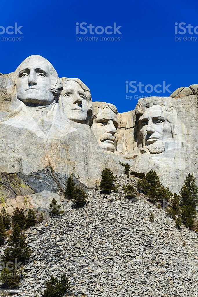 American Presidents, Mount Rushmore National Monument, South Dakota stock photo