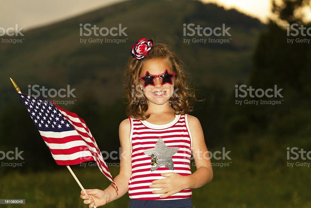 American Pride stock photo