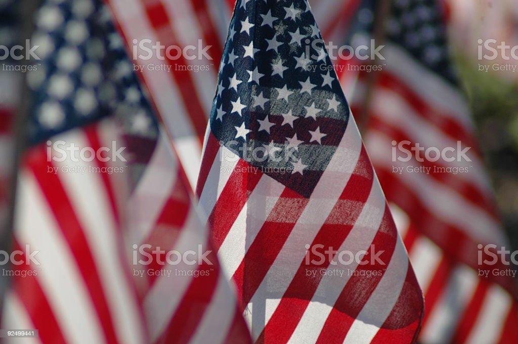 Amerikanischen Stolz Lizenzfreies stock-foto