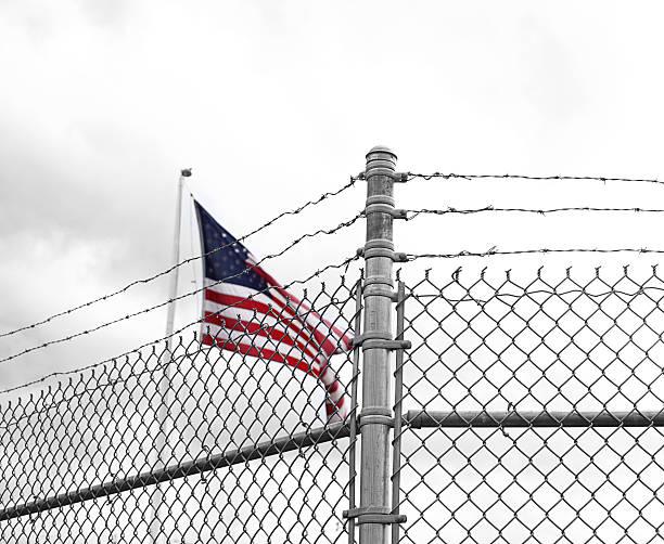 American Prison stock photo
