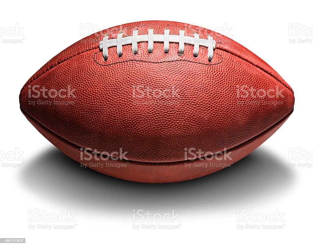 American Pro Football on White stock photo