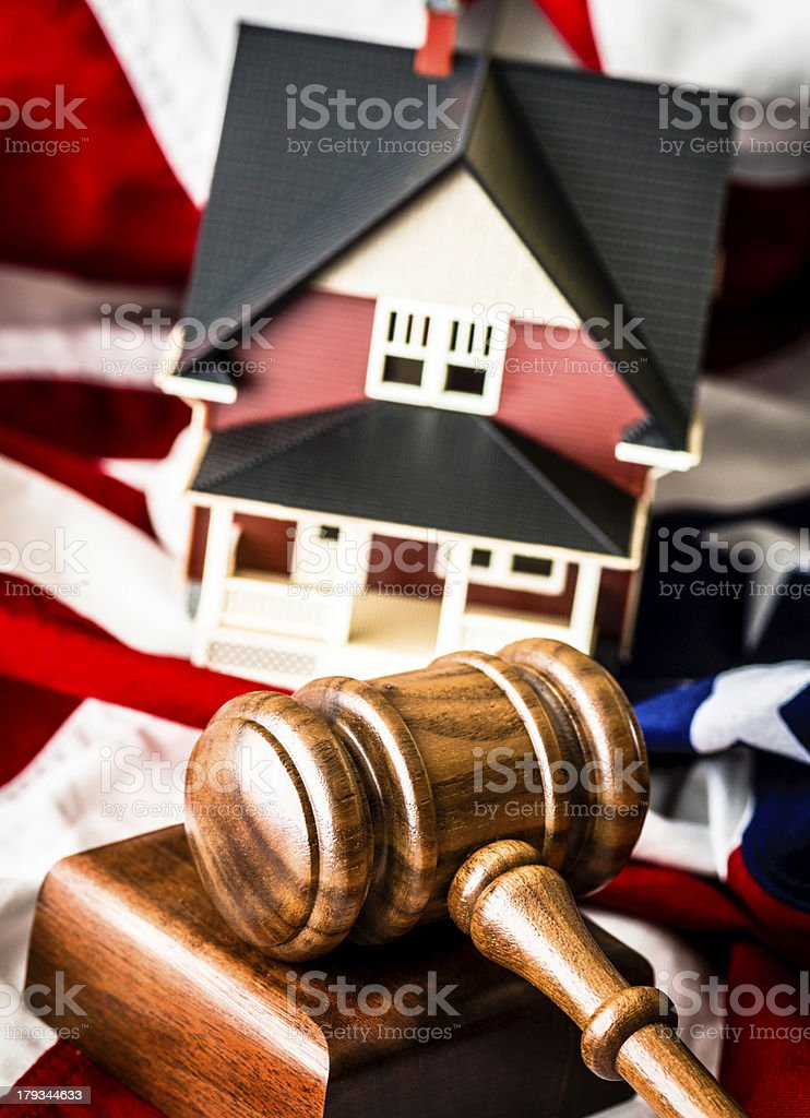 American Real Estate Auctions stock photo