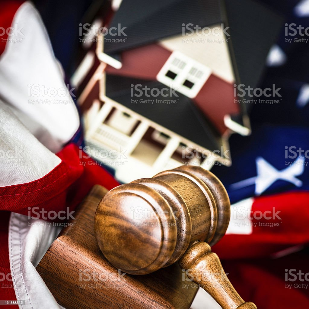 American Real Estate Auctions royalty-free stock photo