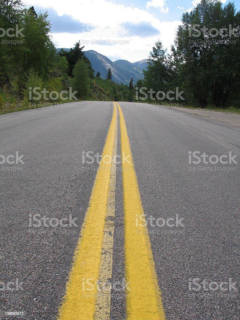 American roadway royalty-free stock photo