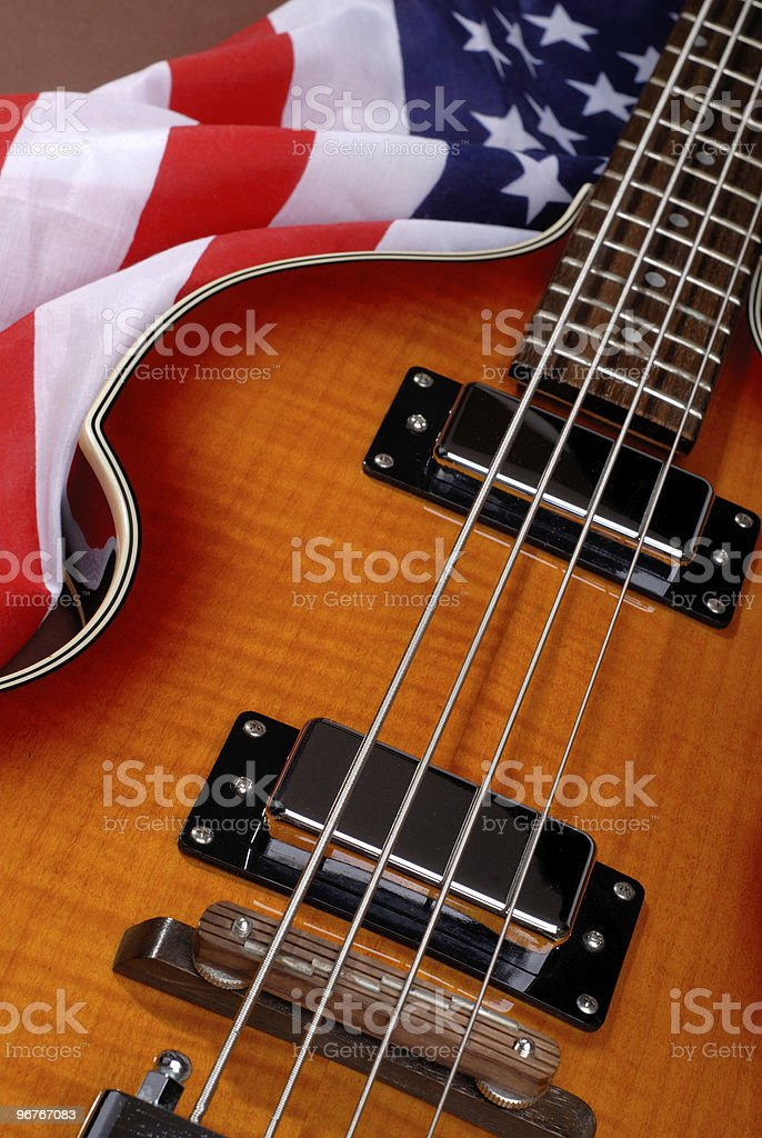 American Rock Guitar stock photo