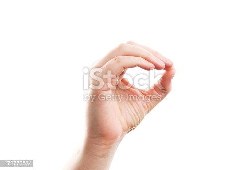 American Sign Language - Zero