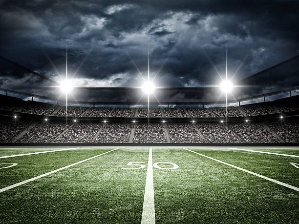 Royalty Free American Football Field Pictures, Images and ...