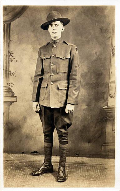 Soldat américain de la Première guerre mondiale - Photo