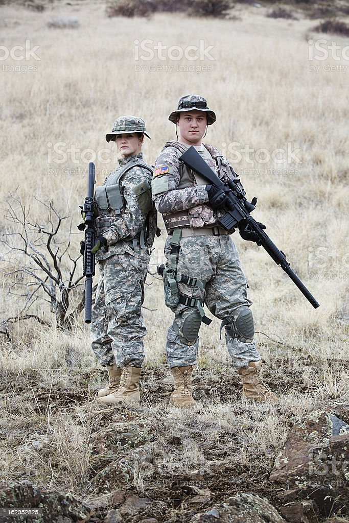 American Soldiers Stock Photo & More Pictures of 20-29 Years