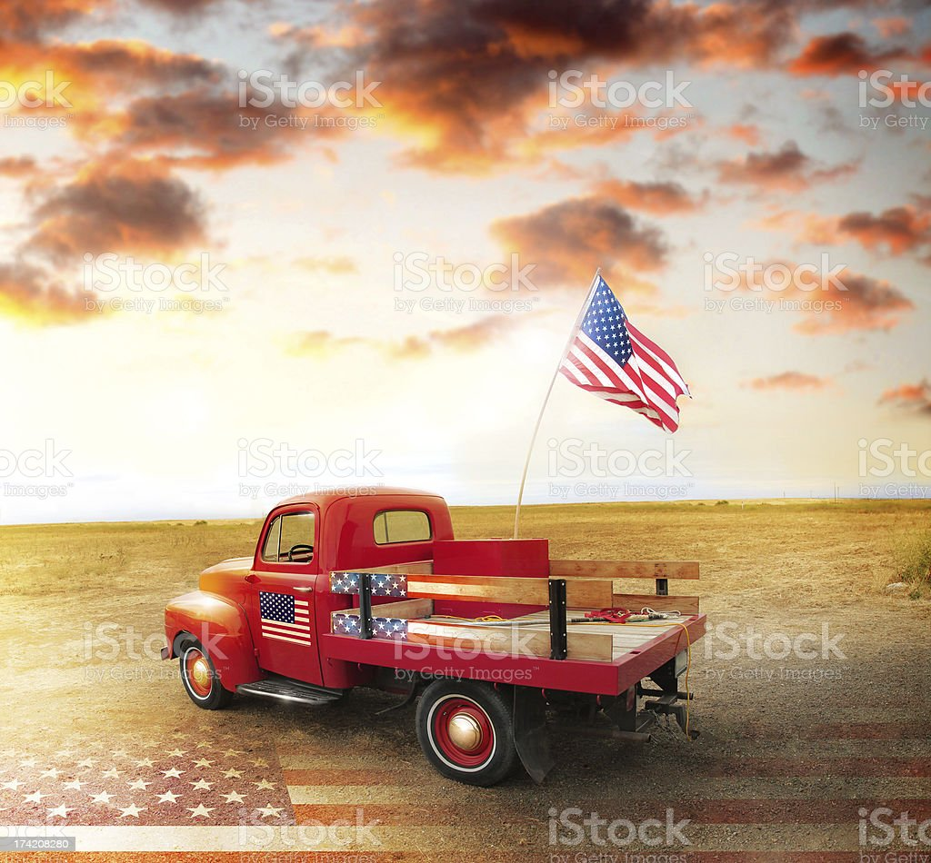 American spirit stock photo