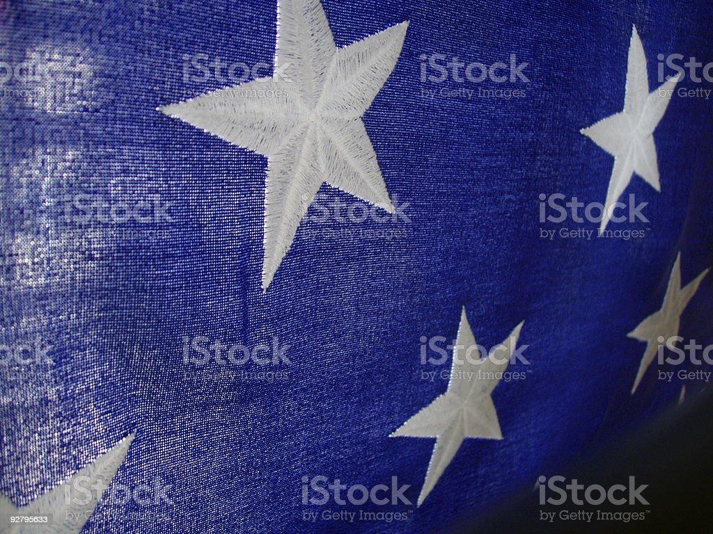 American Stars stock photo