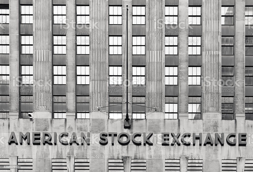 American stock exchange - AMEX stock photo