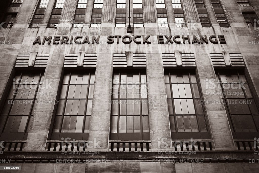 American Stock Exchange Amex Stock Photo More Pictures Of American