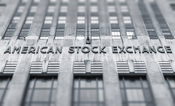 American stock exchange - AMEX stock photo