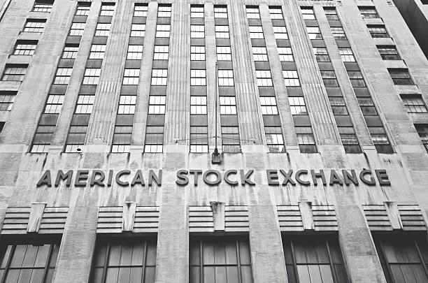 american stock exchange - nyse crash imagens e fotografias de stock