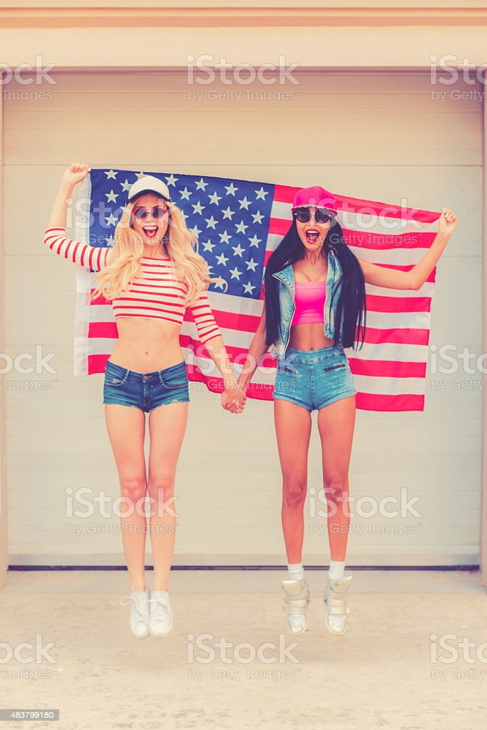American style. stock photo