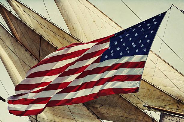 American Tall Ship stock photo