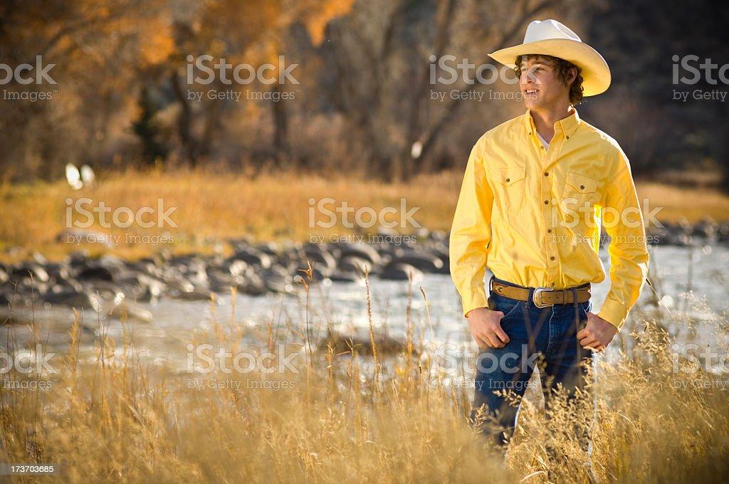 Rancher adolescent américain - Photo