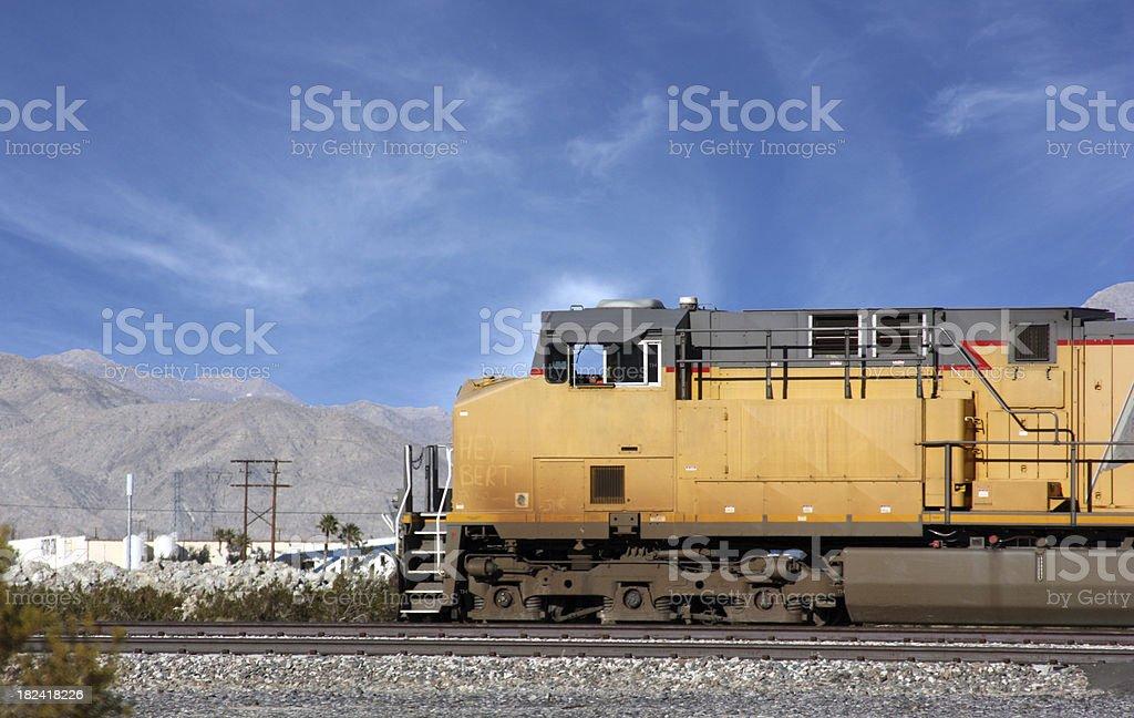 American Train stock photo