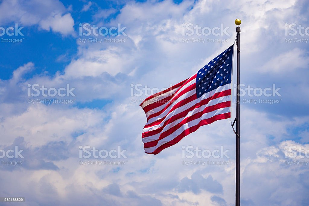 American USA Flag stock photo