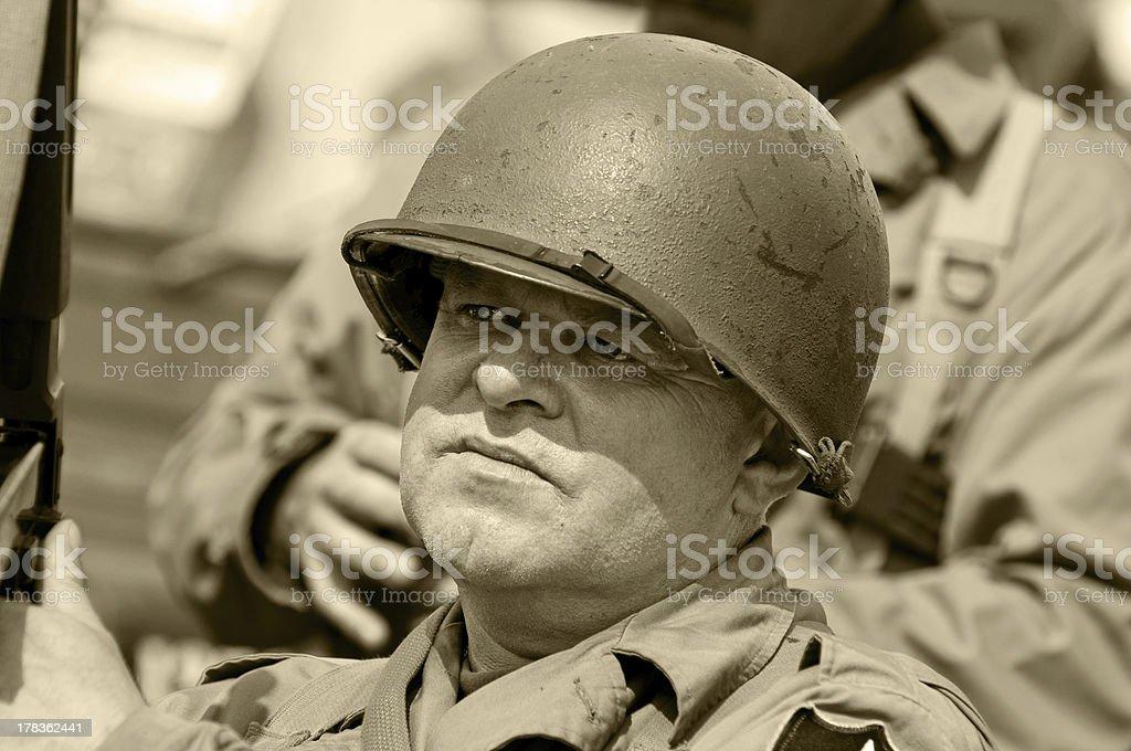 American Veteran stock photo