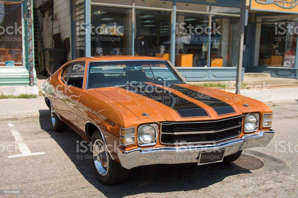 American Vintage Car 3 stock photo