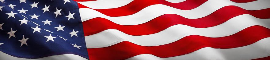 istock American Wave Flag 937074172