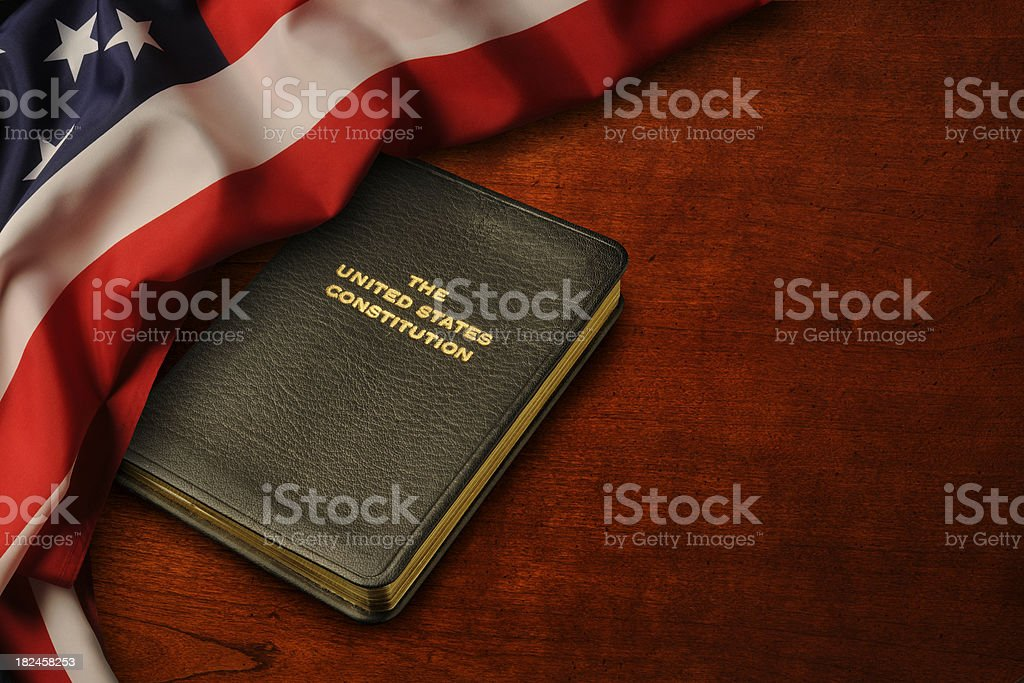 American Way royalty-free stock photo