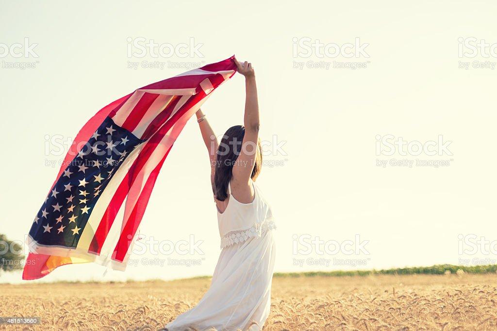 American way stock photo