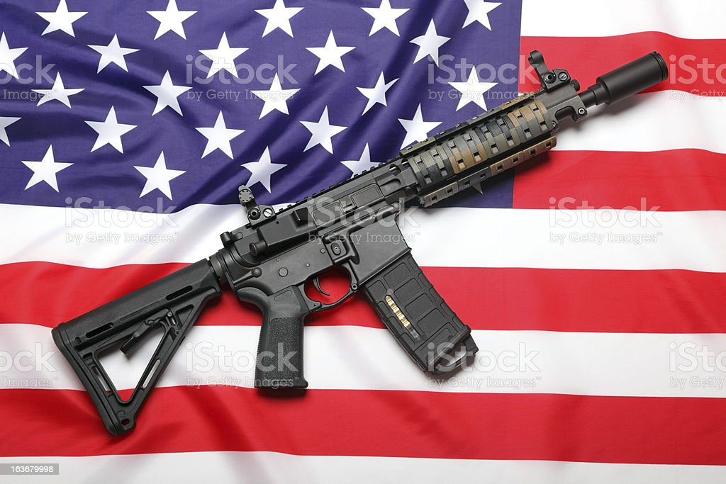 American weapon stock photo
