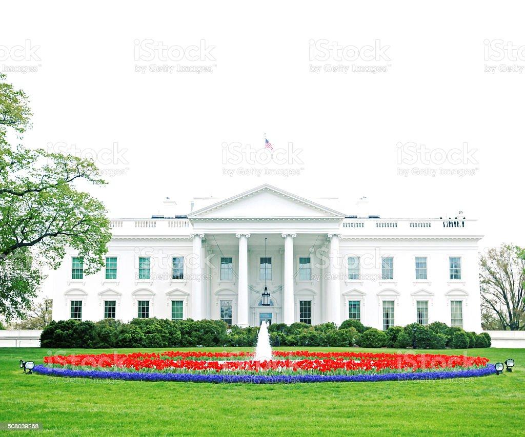 Américaine nouvelle maison blanche à washington d c photo libre de droits