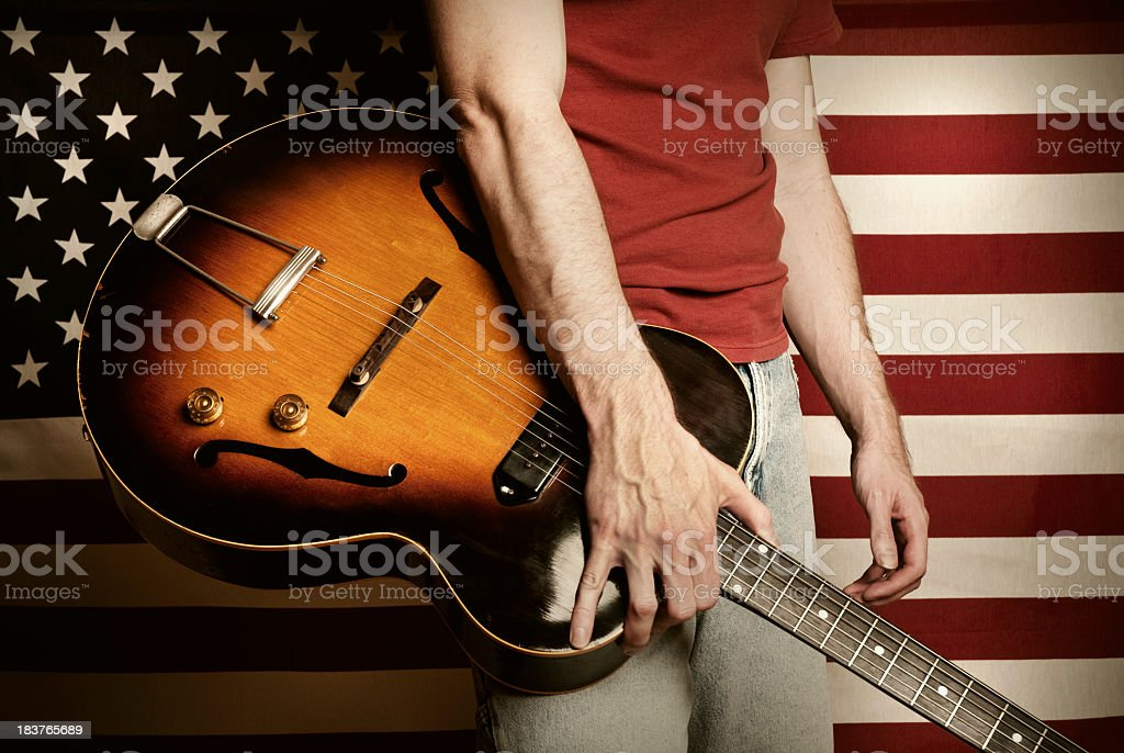 Americana Music stock photo