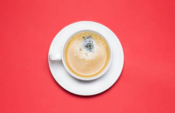 Americano Coffe Cup stock photo
