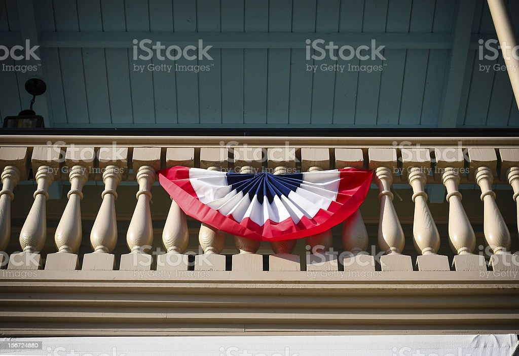 Americans celebrate! royalty-free stock photo