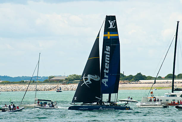 America's Cup comes to Portsmouth stock photo