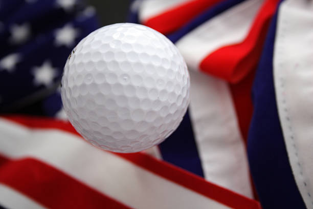America's game (golf) stock photo