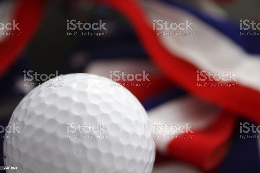 America's game (golf) stock photo