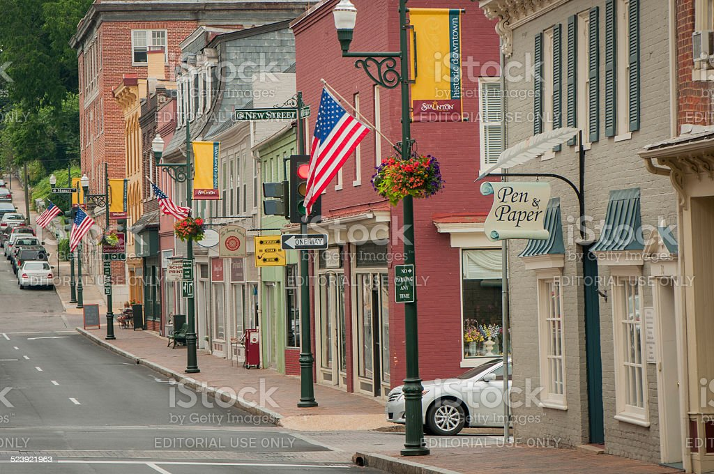 America's Main Street stock photo