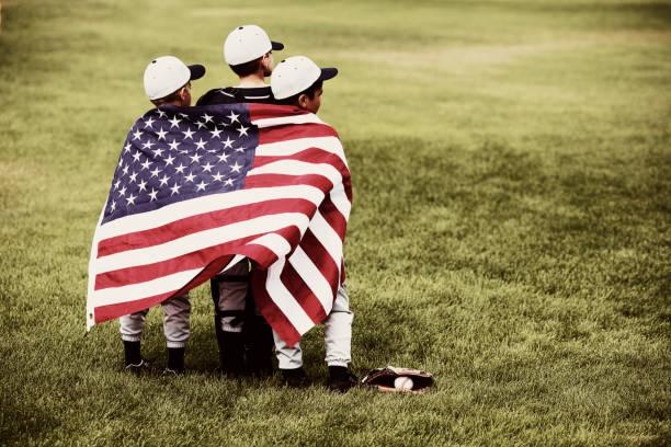 america's sport - traum team stock-fotos und bilder