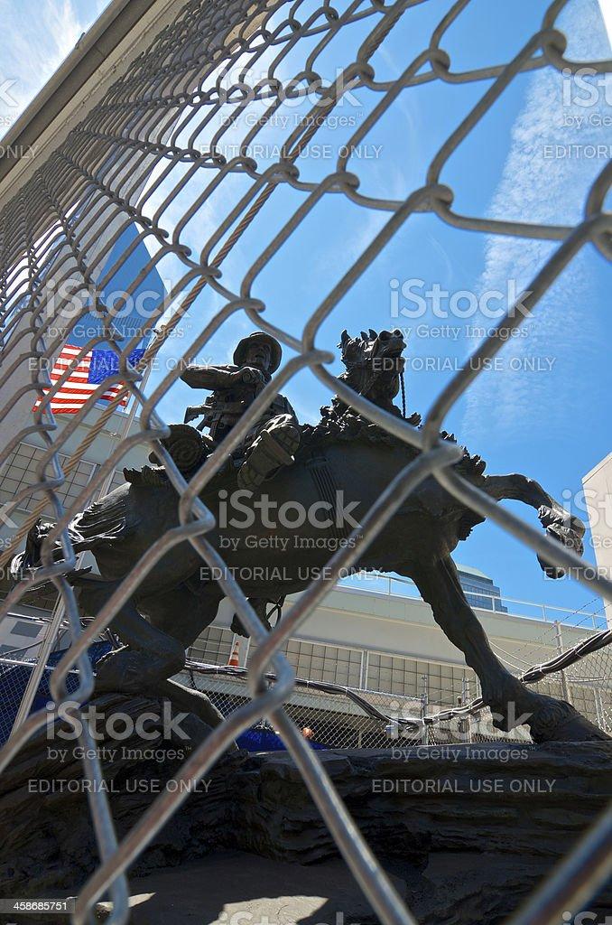 America's Response Monument, Ground Zero, Lower Manhattan, New York City royalty-free stock photo
