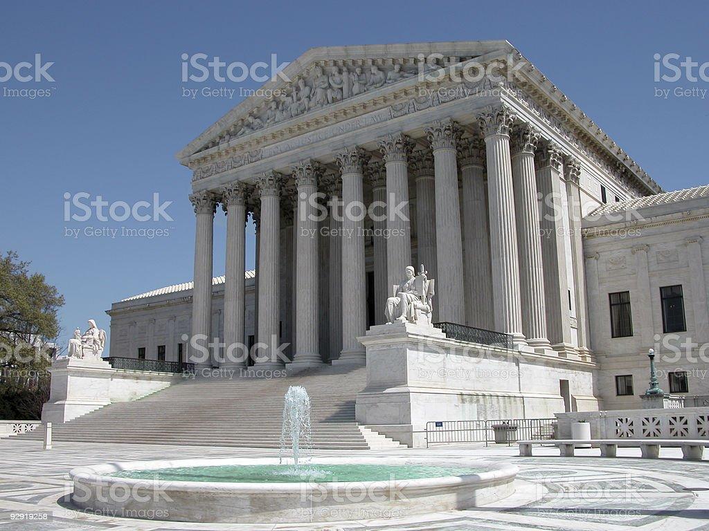 America's Supreme Court royalty-free stock photo