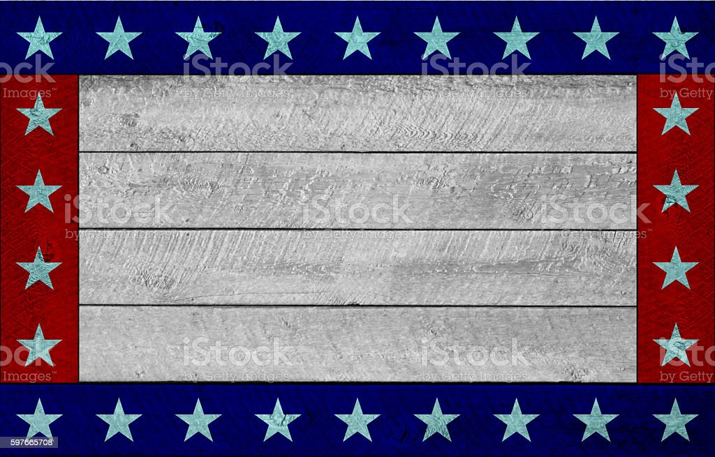 America's wood background stock photo