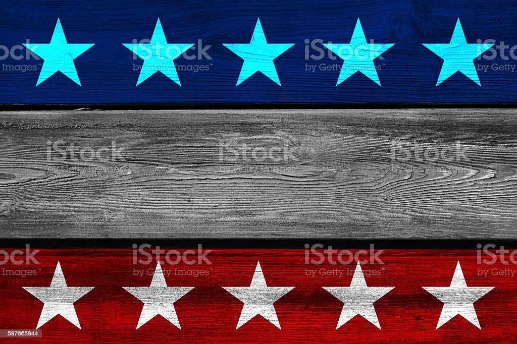 America's wood planks background stock photo
