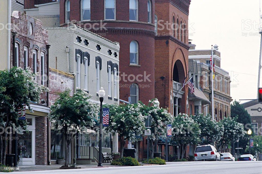 Americus, Georgia, USA stock photo
